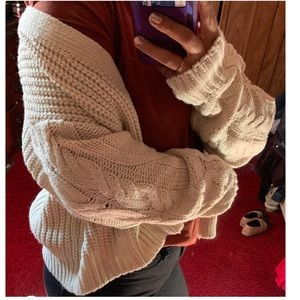 Forever 21 Sweaters - Cable Knot cardigan